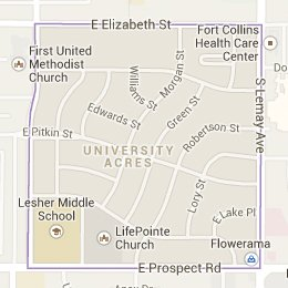 University Acres Neighborhood Fort Collins Real Estate